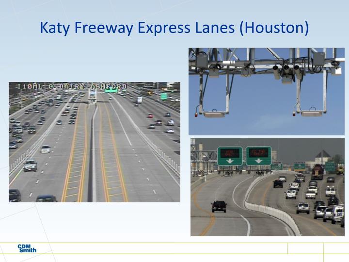 Katy Freeway Express Lanes (Houston)