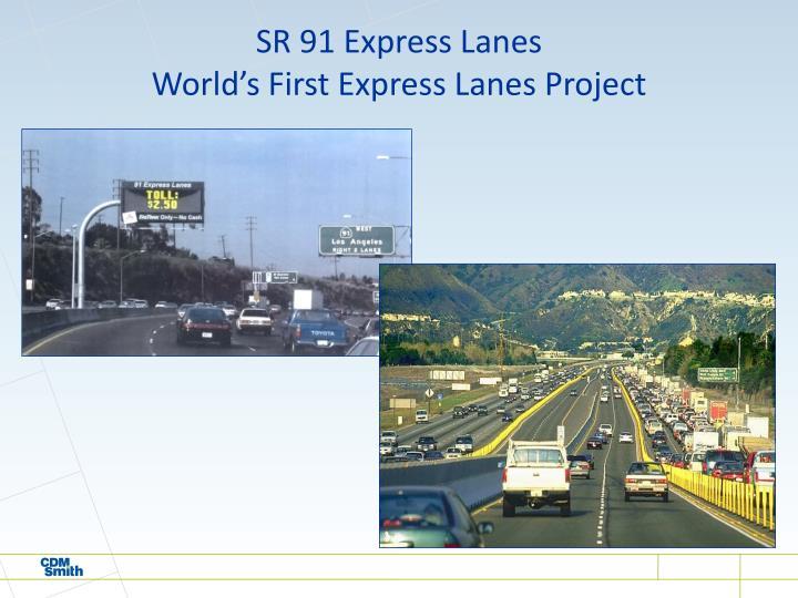 SR 91 Express Lanes