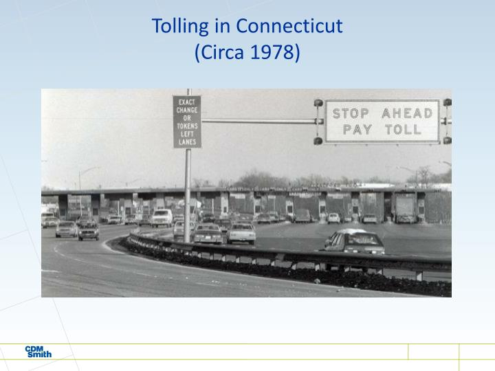 Tolling in Connecticut
