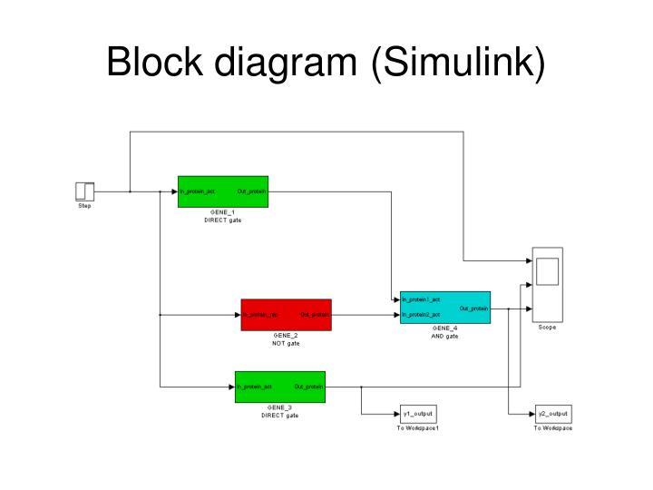 Block diagram (Simulink)