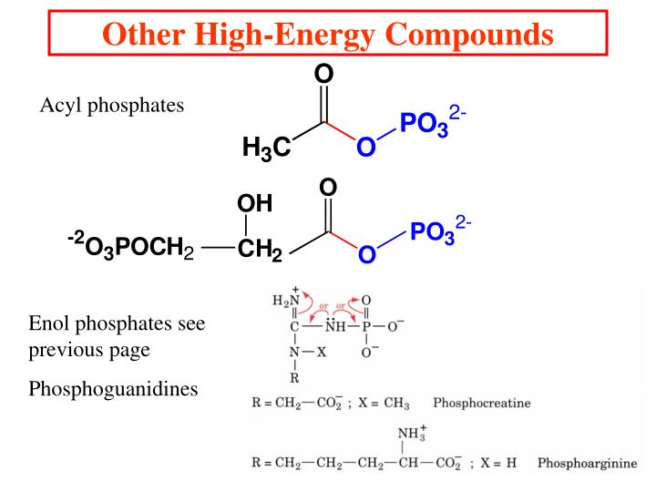 Other High-Energy Compounds