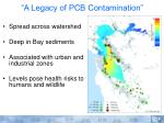 a legacy of pcb contamination