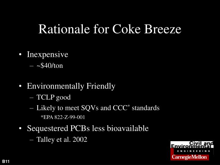 Rationale for Coke Breeze