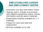 employabilities career and employment centre