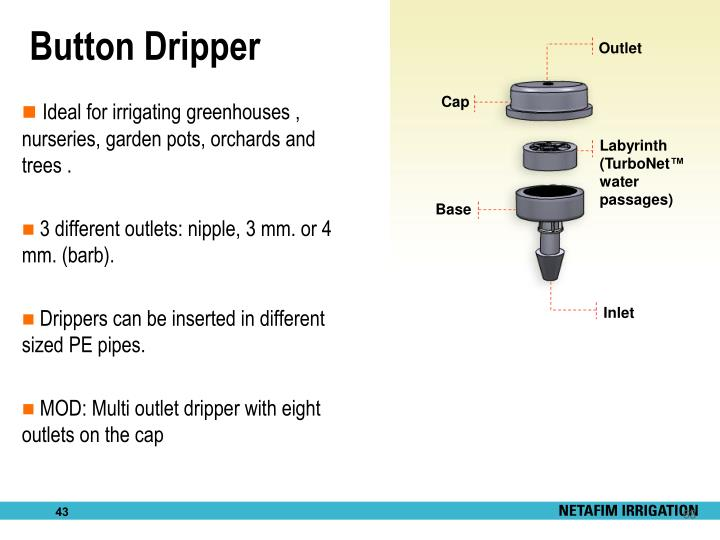 Button Dripper