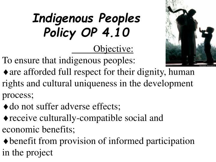 Indigenous Peoples