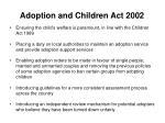 adoption and children act 2002