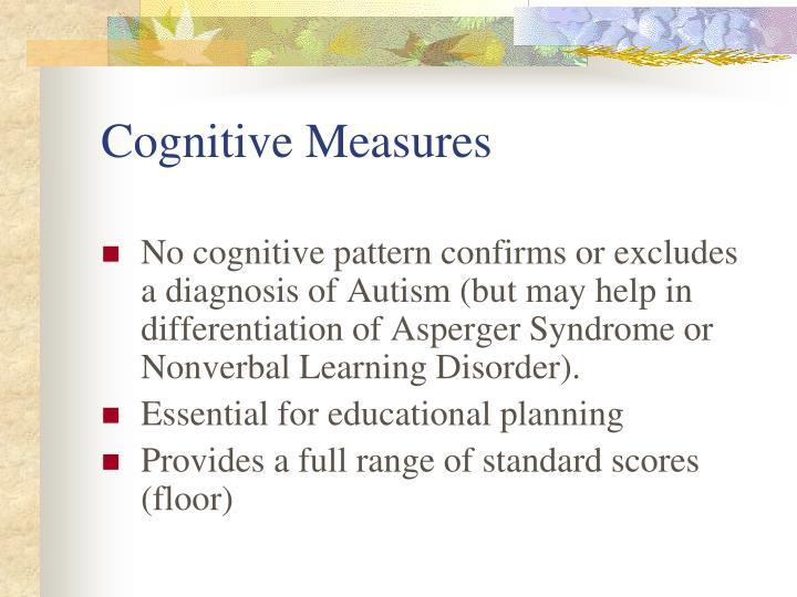 Cognitive Measures