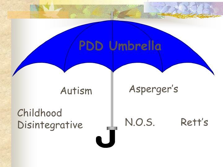 PDD Umbrella