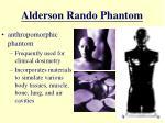 alderson rando phantom