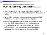 automated data processing for public trust positions trust vs security clearances continued2