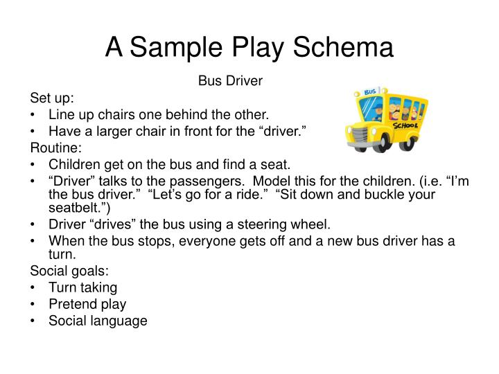 A Sample Play Schema
