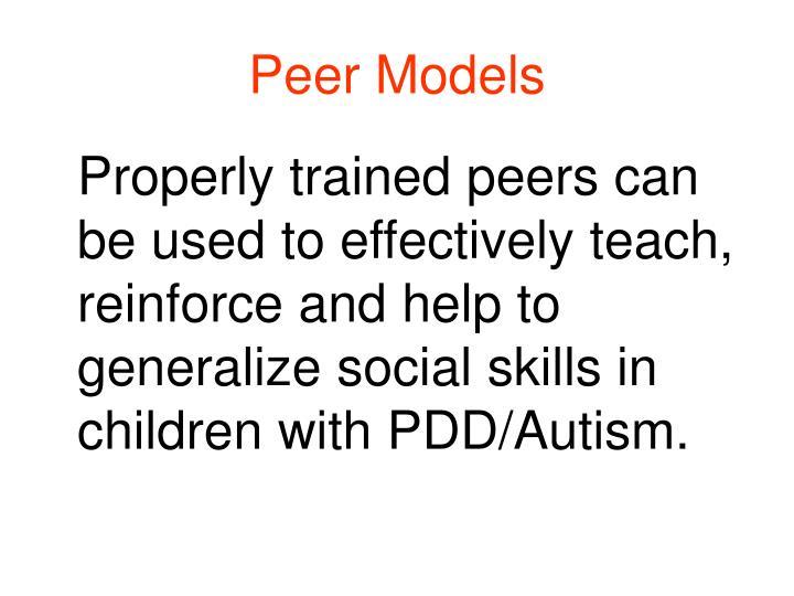 Peer Models