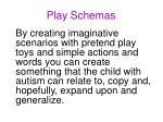 play schemas