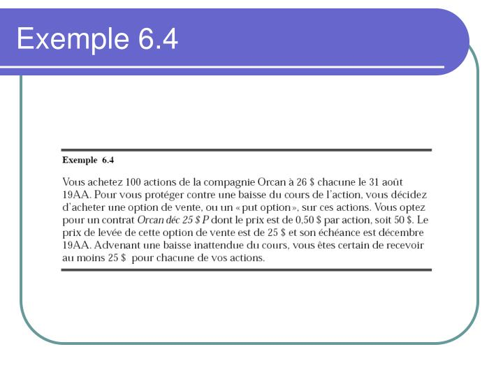 Exemple 6.4