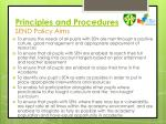 principles and procedures send policy aims