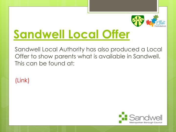 Sandwell Local Offer