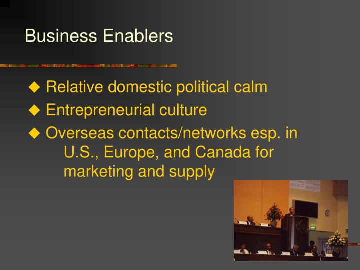 Business Enablers