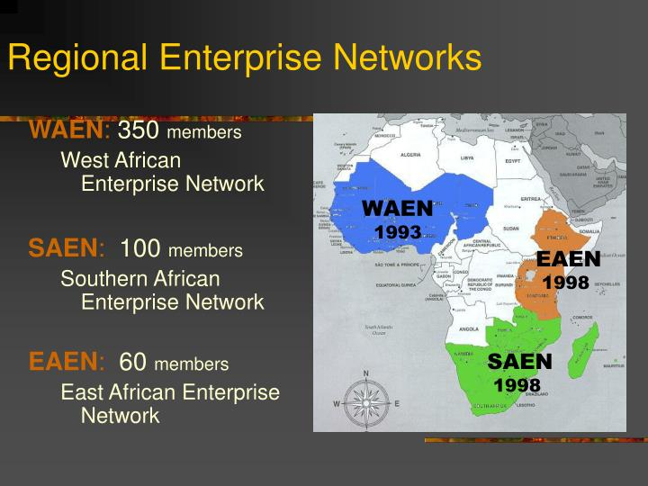 Regional Enterprise Networks
