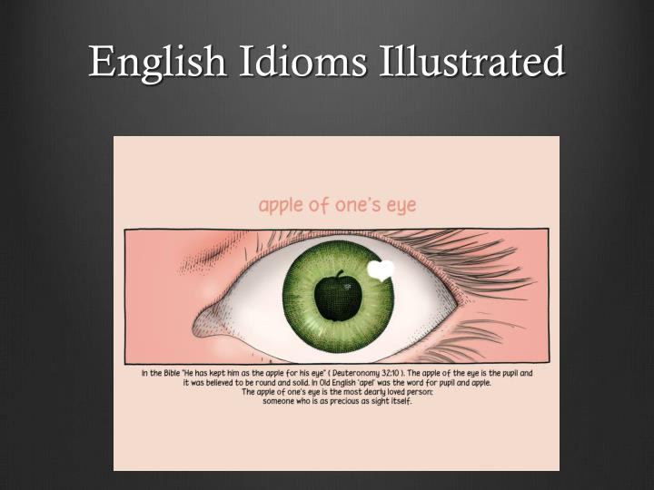 English Idioms Illustrated