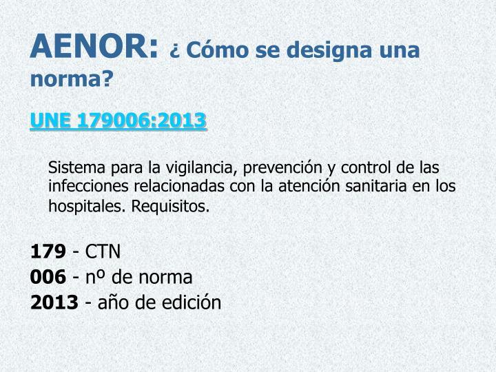 AENOR: