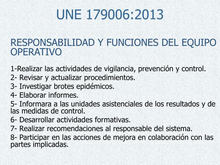 UNE 179006:2013