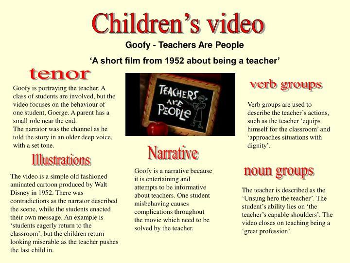 Children's video