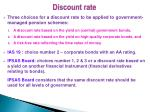 discount rate1