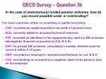 oecd survey question 3b
