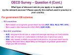 oecd survey question 4 cont