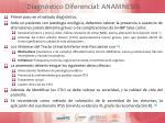 diagn stico diferencial anamnesis
