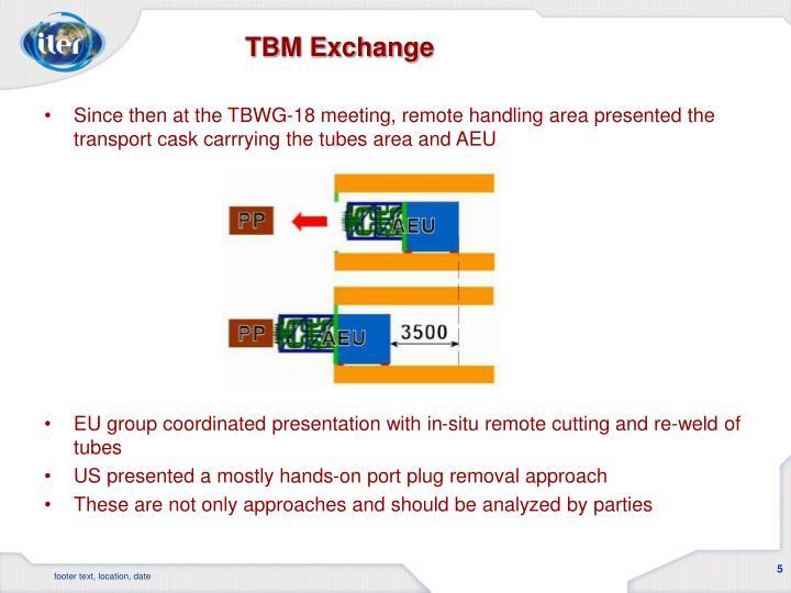 TBM Exchange