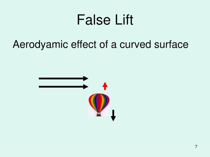 False Lift