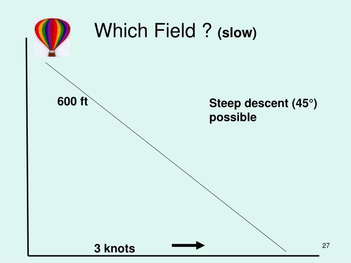 Which Field ?