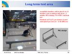 long term test area