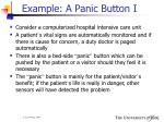 example a panic button i