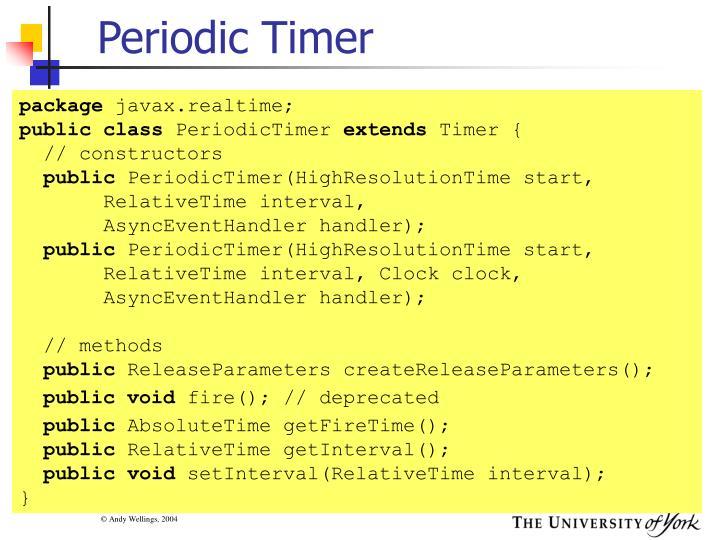 Periodic Timer