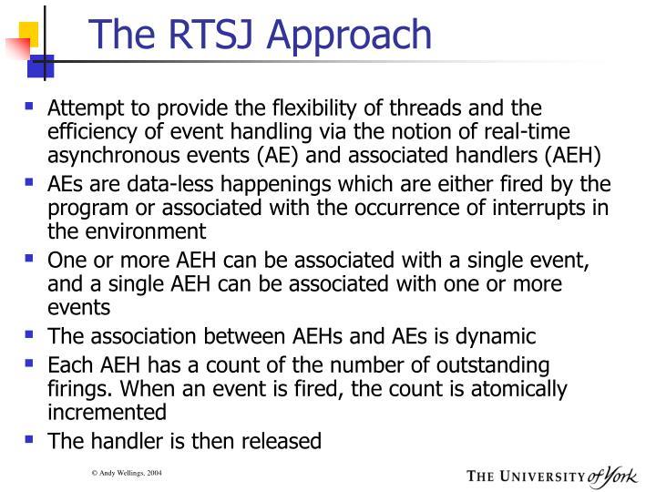 The RTSJ Approach