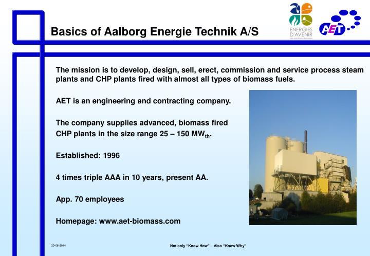 Basics of Aalborg Energie Technik A/S