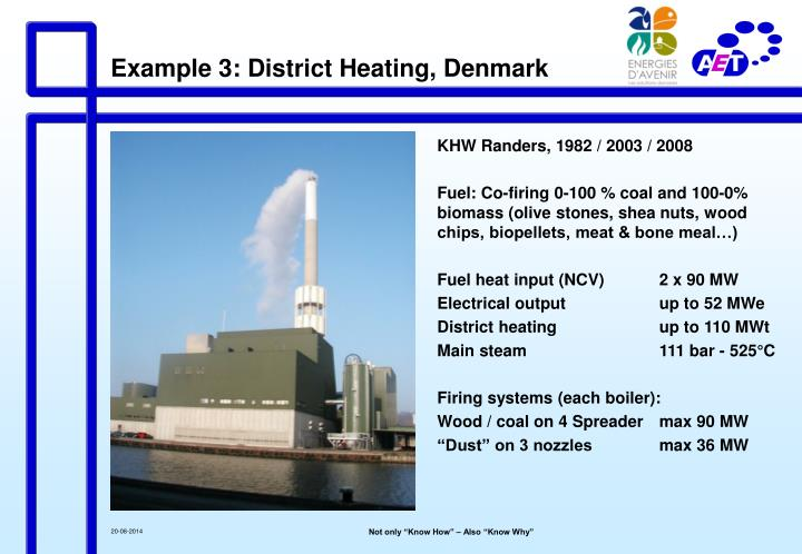 Example 3: District Heating, Denmark
