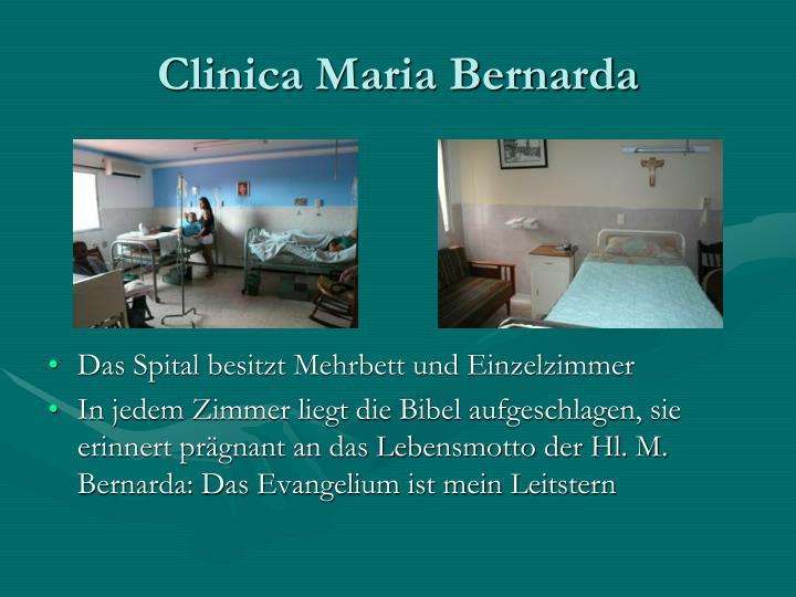 Clinica Maria Bernarda