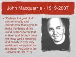 john macquarrie 1919 2007