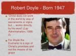 robert doyle born 1947