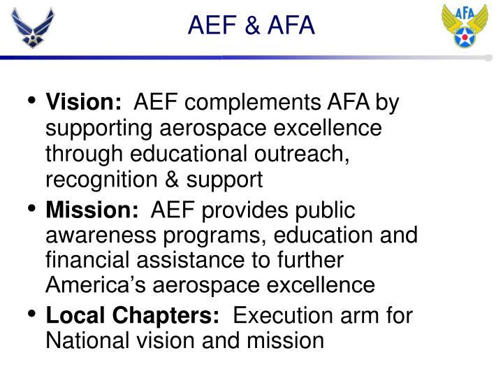 AEF & AFA