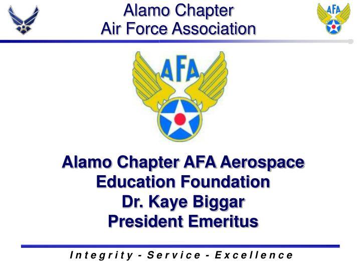 alamo chapter air force association
