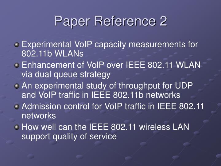 Paper Reference 2