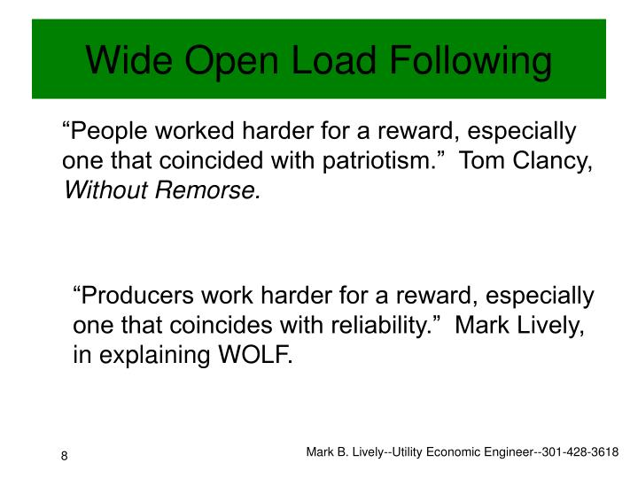 """People worked harder for a reward, especially one that coincided with patriotism.""  Tom Clancy,"
