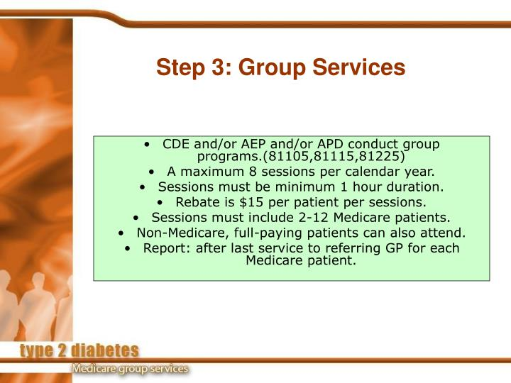 Step 3: Group Services