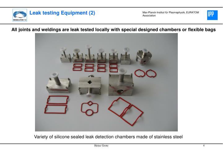 Leak testing Equipment (2)