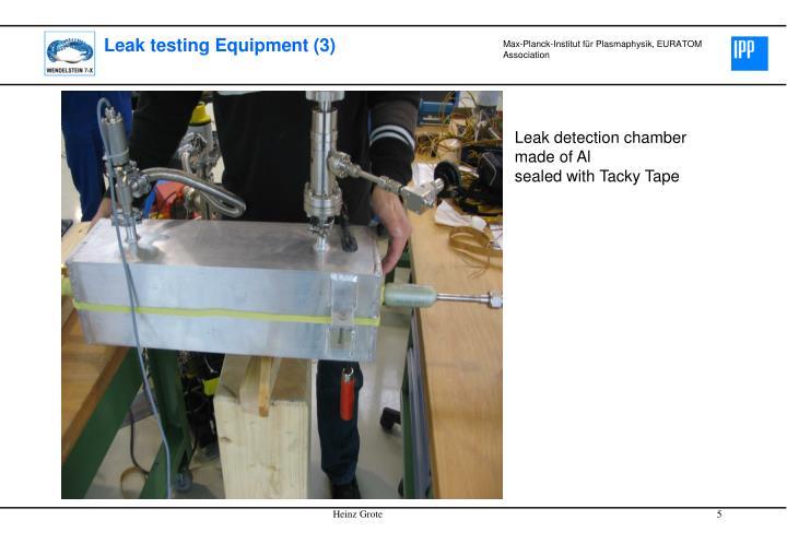 Leak testing Equipment (3)